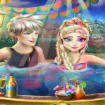 Disney Frozen Game – Frozen Elsa Jacuzzi Celebration Baby Videos Games for Kids
