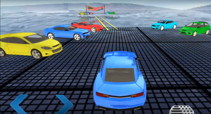 Tracks Car Stunt Video Game