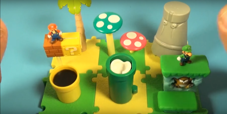 MICRO LAND PLAY SET'S NINTENDO VIDEO GAME TOY ; Video Game Hot News