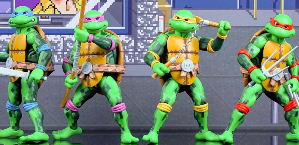 Turtle Ninja Action Figures