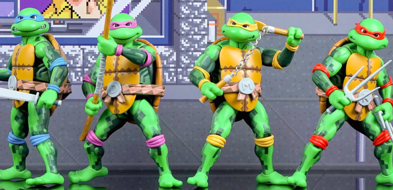 Turtle Ninja Action Figures